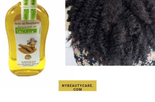 j'ai testé l'huile de fenugrec sur mes cheveux crépus