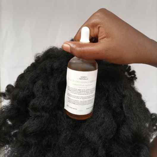 cheveux qui poussent et gainés