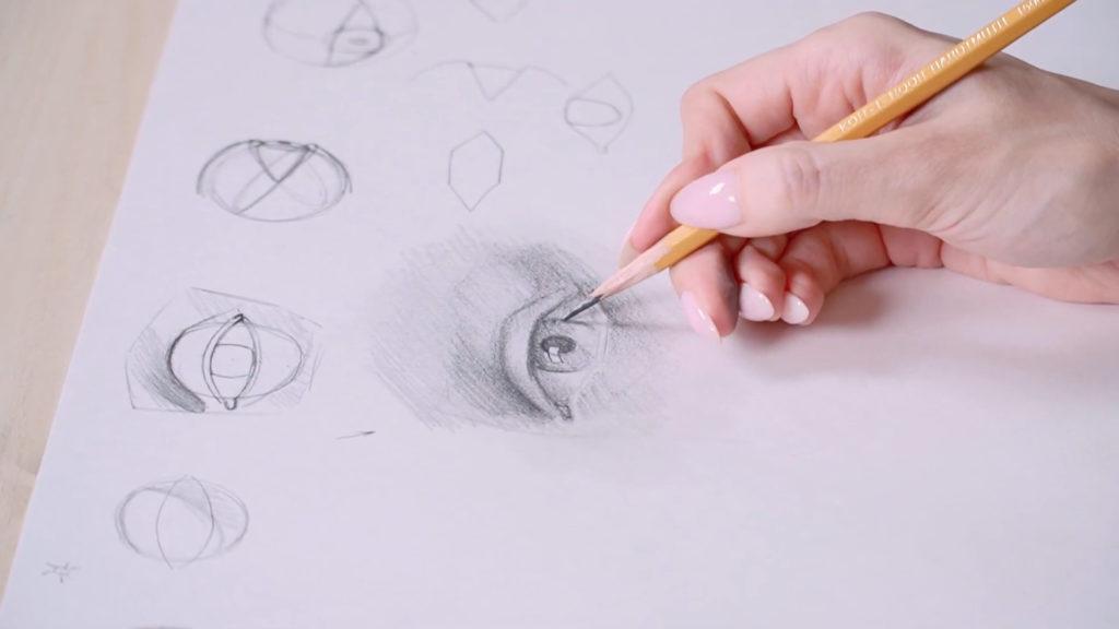 چگونه برای جلب چشم با مداد فصلی - مرحله 12 - عکس