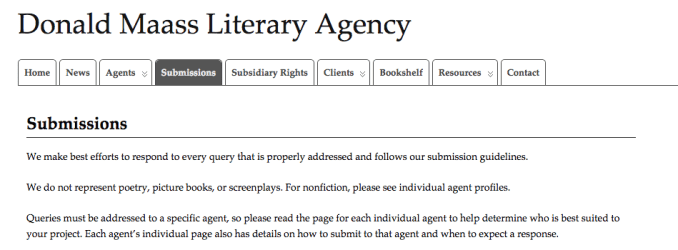 Writing a query letter to a literary agent newsinvitation literary agency altavistaventures Images