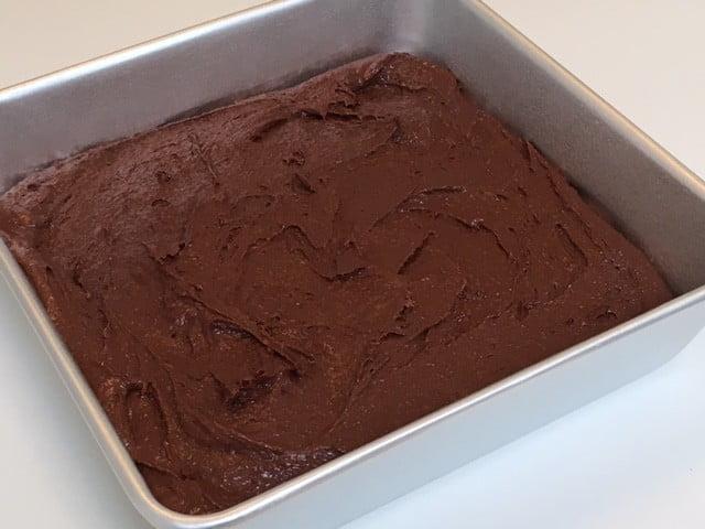 brownies med hindbaer fromage