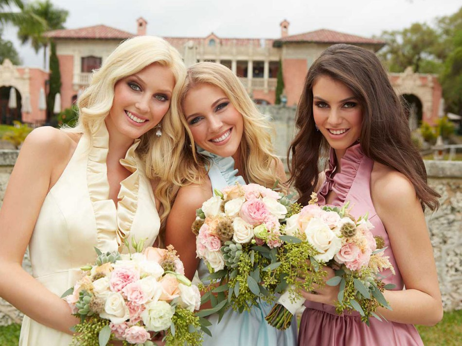 bridesmaid dresses Raleigh Durham Chapel HIll Cary NC