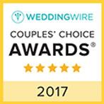 wedding wire couples choice award 2017