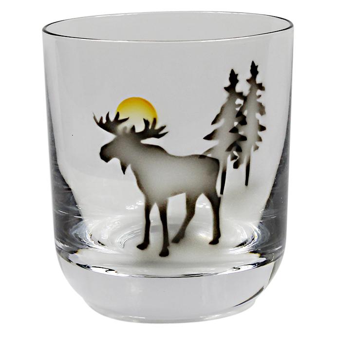 Älg whiskyglas