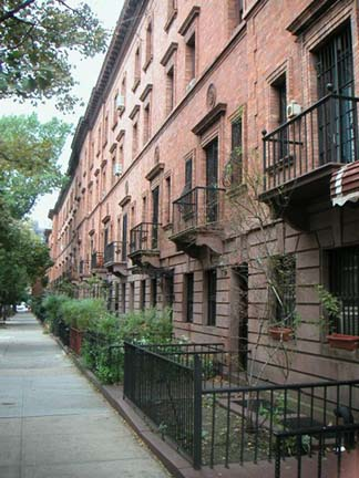 New York Architecture Images Strivers Row