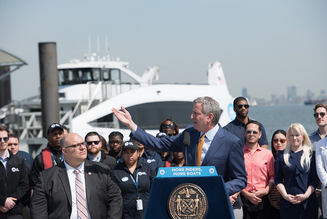 De Blasio's Ignorance of NYC's Bus Crisis Shines Through at
