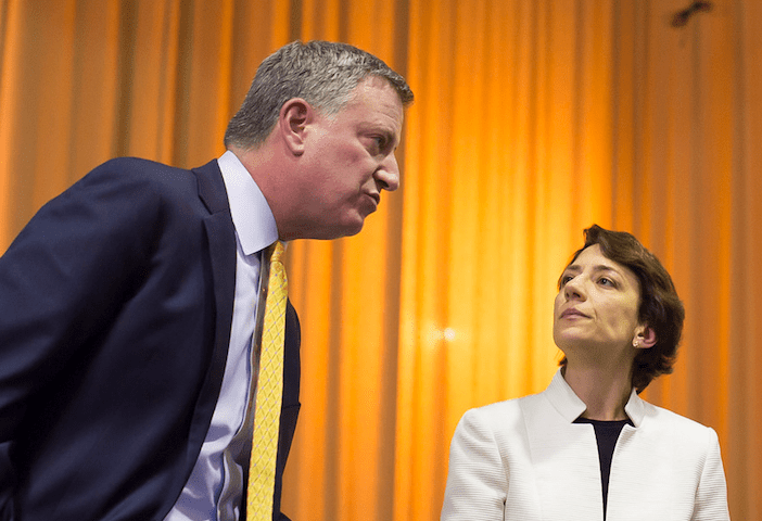 Trottenberg Offers No Answer To Mayor de Blasio?s Lack of Concern About Blocked Bike Lanes
