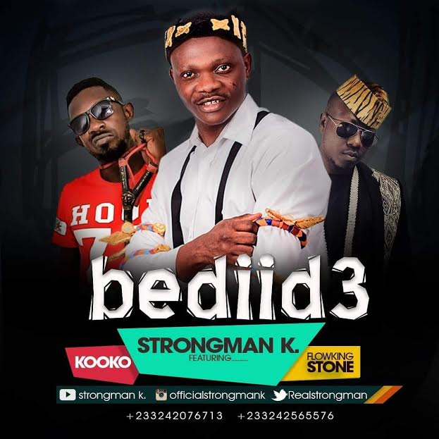Strongman k - Bediid3 ft. Flowking Stone & Kooko (Prod. by Ipuppy) cover artwork