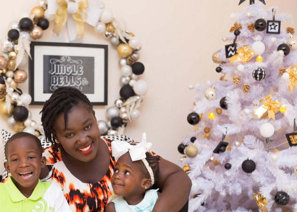 Kumkum Bagya host, Tima Yeboah with her children