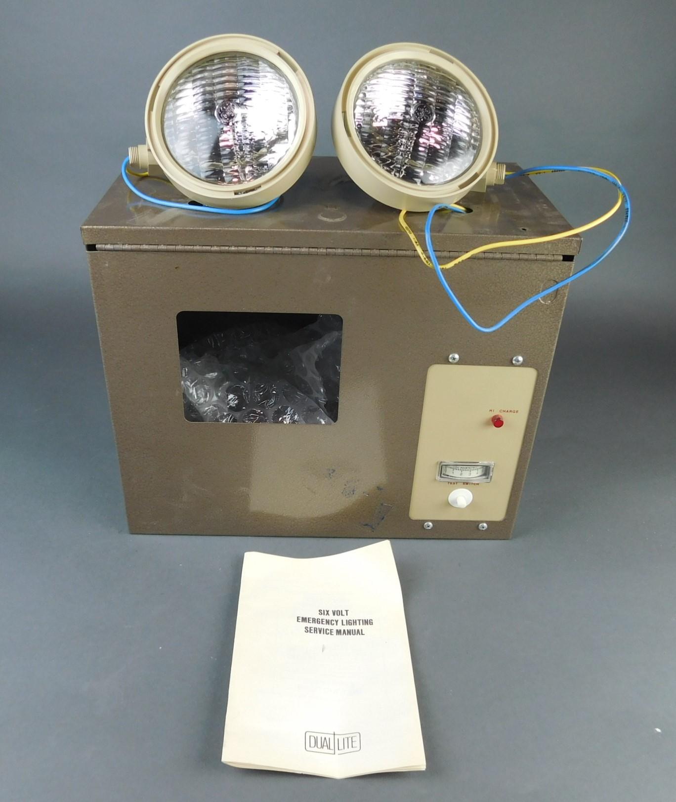 dual lite as series emergency light model 1452pssb6v 72wsb c lvd