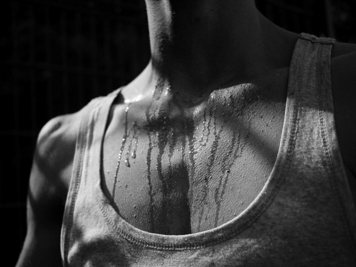 Sweating is a natural process