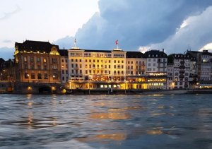 Basel-on-the-Rhine-River