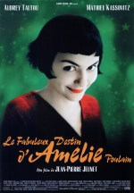 4/5 A cult film in France and internationally, Amélie follows the life of the character of the same name finding herself in the world, and seemingly looking for her destiny.