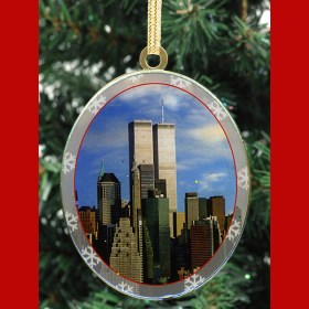 World Trade Center New York Christmas Ornament from NY Christmas Gifts