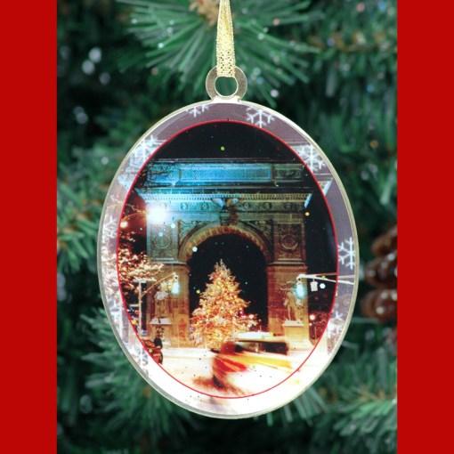 Washington Arch Christmas Tree New York Christmas Ornament from NY Christmas Gifts