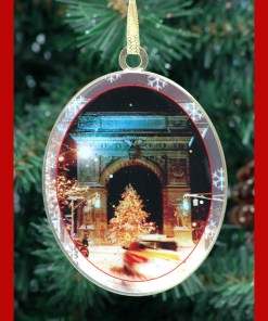 Washington Arch Christmas Tree New York Christmas Ornament from NY Christmas Gifts