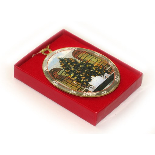 Lincoln Center Tree New York Christmas Ornament in Gift Box