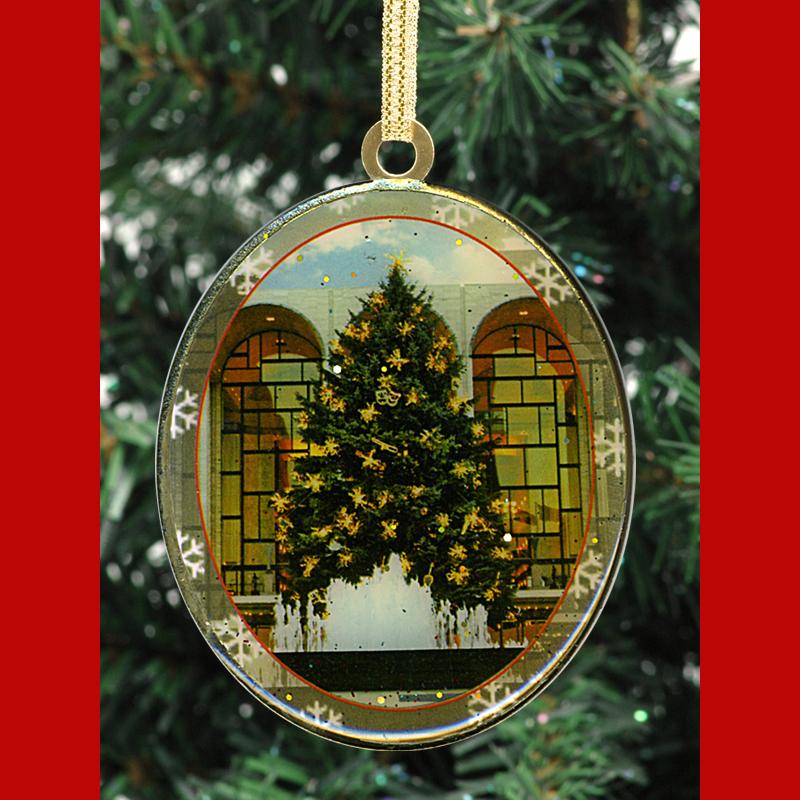 Lincoln Center Christmas Tree New York – Christmas Ornament