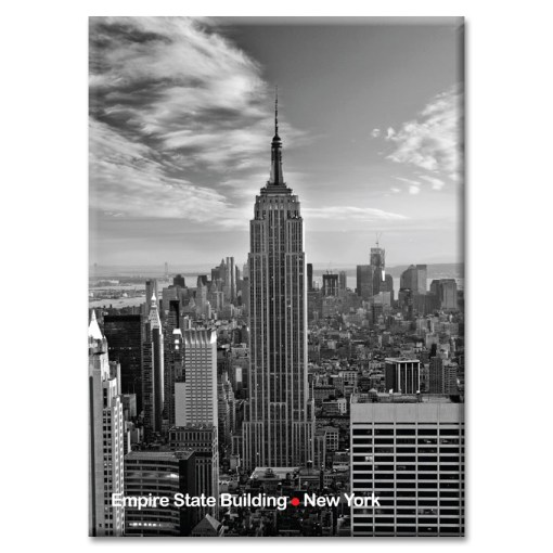 Empire State Building New York Photo Magnet from NY Christmas Gifts