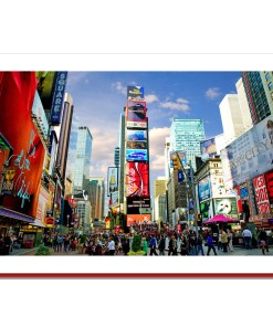 Times Square - Handmade Photo Card