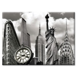 New York Landmarks Collage Photo Magnet from NY Christmas Gifts