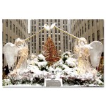 Angels at Rockefeller Center Christmas Tree New York Art Print MP-2110