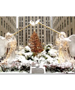 Angels at Rockefeller Christmas Tree Art Print MP-2110