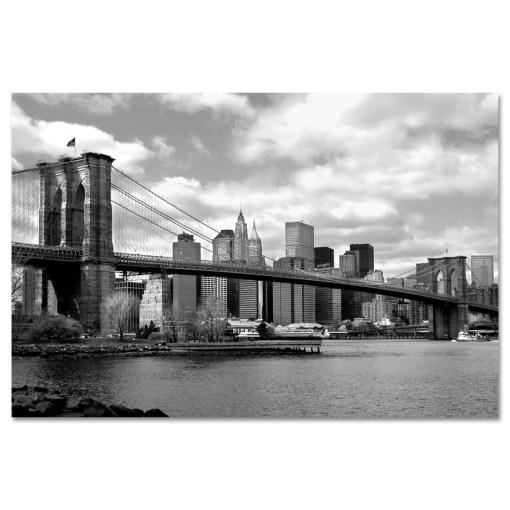 Brooklyn Bridge Panorama New York Art Print MP-1007