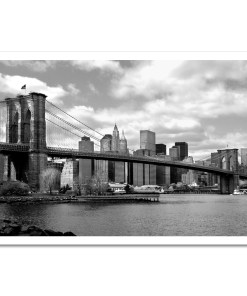 Brooklyn Bridge Panorama New York Art Print Poster MP-1007