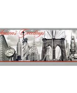 NYC Landmarks Collage Money Cards Holders MC52210