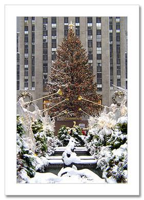 Christmas Tree Rockefeller Center NY Christmas Card HPC-2912