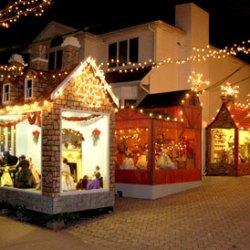 New York Christmas Village Panorama