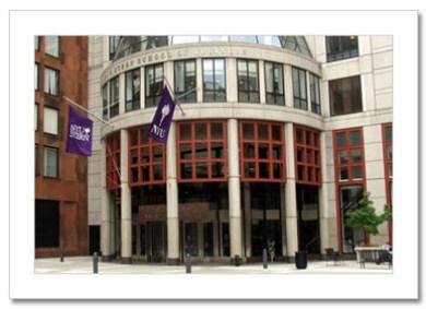 NYU Business School NY Christmas Card HPC-2418