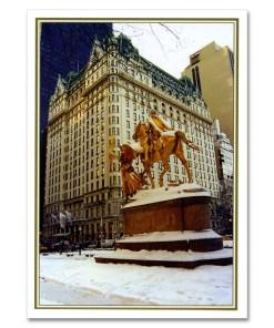 Plaza Hotel NY Christmas Cards BGC111