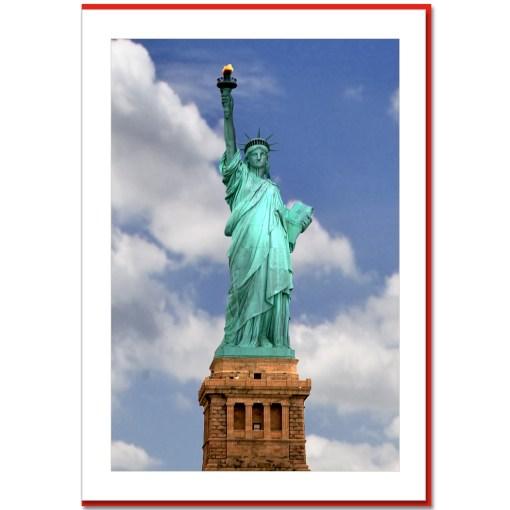 Statue of Liberty Handmade Photo Card HPC2174