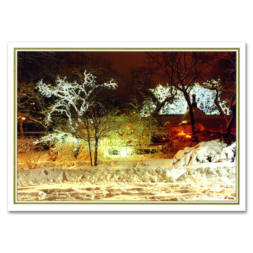Tavern On Green Central Park NY Christmas Boxed Cards