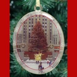 Rockefeller Center Skating Rink New York – Christmas Ornament