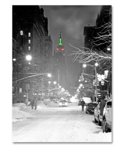 Empire State Building Christmas NY Christmas Boxed Cards Set of 12
