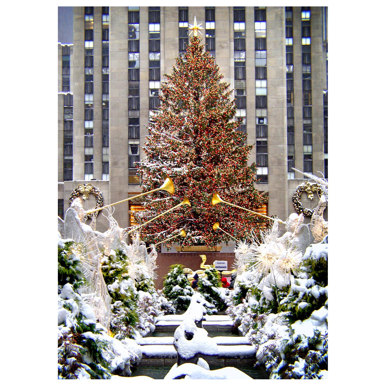 Rockefeller Center Christmas Tree New York NYC Christmas