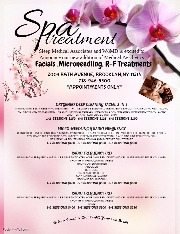 SPA NYC Prices For RF Microneedling Face Rejuvination and Body Contouring