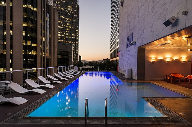 Pool that you might have after moving from NYC to LA
