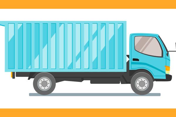 A car-shipping truck.