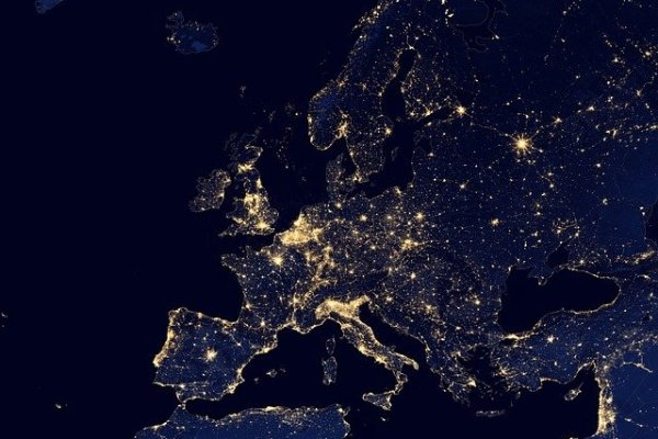 Europe from space.