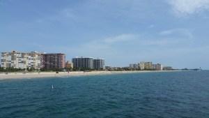 A coast in Florida.