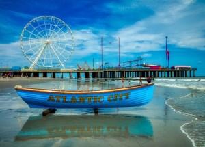 Atlantic City boat.