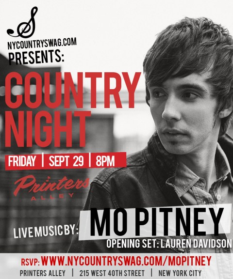 Country Night - Mo Pitney
