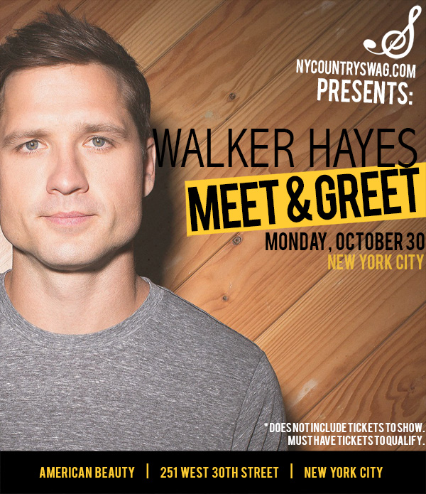 Win a meet greet with walker hayes nycs win a meet greet with walker hayes m4hsunfo