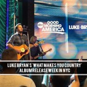 Luke Bryan NYC Album Release
