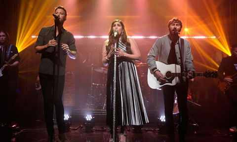 Lady Antebellum on Late Night with Seth Meyers