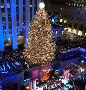 2018 Rockefeller Christmas Tree Lighting